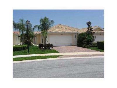 Wellington Single Family Home For Sale: 2808 Rio Claro Drive