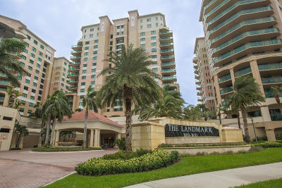 Palm Beach Gardens Condo For Sale: 3610 Gardens Parkway #702a