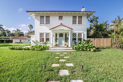 West Palm Beach Single Family Home For Sale: 300 Buckingham Road