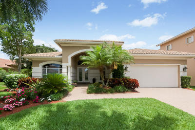 Delray Beach Single Family Home For Sale: 8083 Laurel Ridge Court