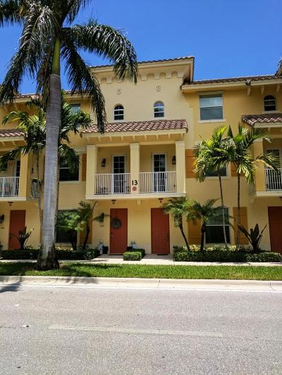 Boynton Beach Townhouse For Sale: 1465 Via De Pepi