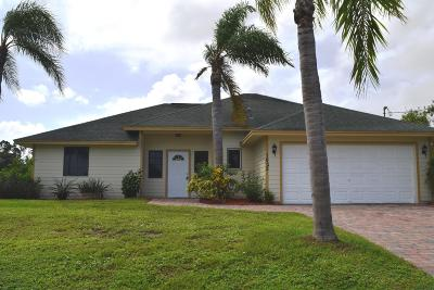 Port Saint Lucie FL Single Family Home Contingent: $228,750