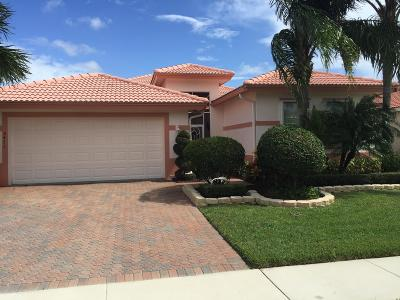 Boynton Beach Single Family Home For Sale: 8473 Marsala Way