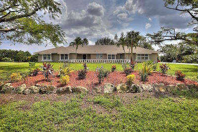 Lake Worth Single Family Home For Sale: 9332 Corral View