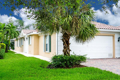 Port Saint Lucie Single Family Home For Sale: 12270 SW Elsinore Drive