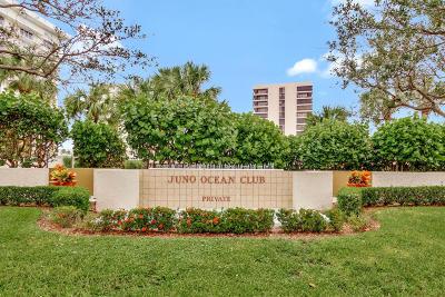 Juno Beach Condo For Sale: 450 Ocean Drive #103