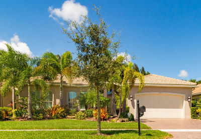 Boynton Beach Single Family Home For Sale: 9211 Bal Bay Point