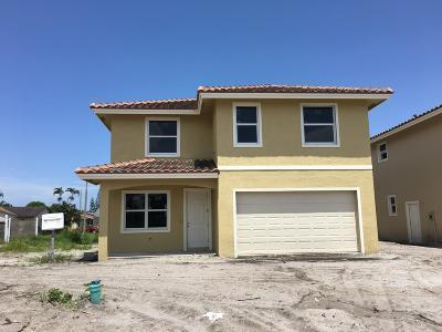 Greenacres Single Family Home For Sale: 3912 La Rambla