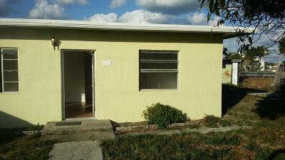 boynton beach Single Family Home For Sale: 918 NW 1st Street
