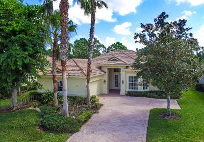 Port Saint Lucie Single Family Home Contingent: 10117 Crosby Place