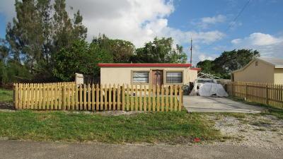 Lantana Single Family Home For Sale: 1177 Highview Road