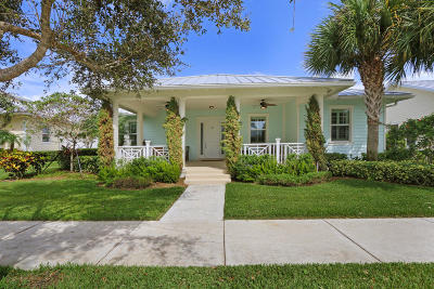 Jupiter Single Family Home For Sale: 1167 Jeaga Drive