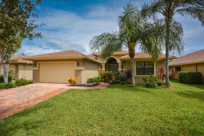 Boynton Beach Single Family Home For Sale: 11084 Via Amalfi