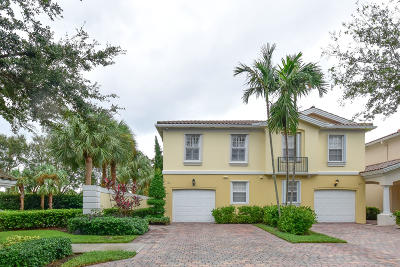Palm Beach Gardens Townhouse For Sale: 165 Santa Barbara Way