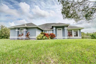 Jupiter Single Family Home For Sale: 9236 159th Court