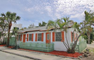 Lake Worth Single Family Home For Sale: 707 3rd Avenue S