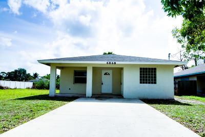 Jupiter Single Family Home Contingent: 6868 Church Street
