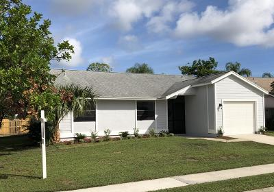 Jupiter Single Family Home For Sale: 101 Greenbriar Drive