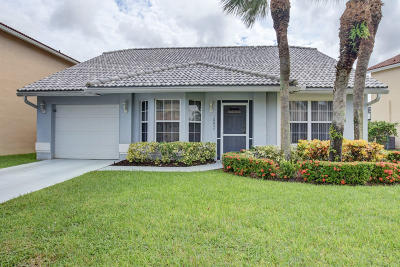 Boca Raton Single Family Home For Sale: 18055 Clear Brook Circle