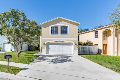 Greenacres Single Family Home For Sale: 4141 Pine Hollow Circle