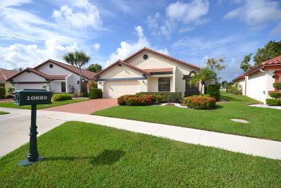 Boca Raton Single Family Home For Sale: 10820 White Aspen Lane