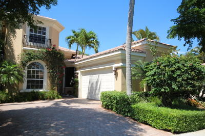 Delray Beach Single Family Home For Sale: 7841 Trieste Place