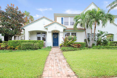 Palm Beach Gardens Townhouse For Sale: 117 Evergrene Parkway #Unit