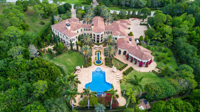 Jupiter FL Single Family Home For Sale: $12,995,000