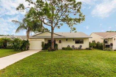 Jupiter Single Family Home For Sale: 6088 Dania Street
