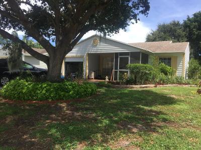 Boynton Beach Single Family Home For Sale: 9231 Carma Drive