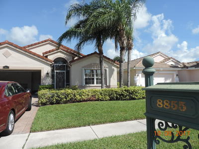 Boca Raton Single Family Home For Sale: 8855 Thames River Drive