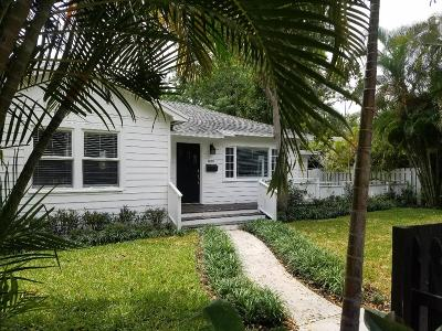 West Palm Beach Single Family Home For Sale: 800 Park Place