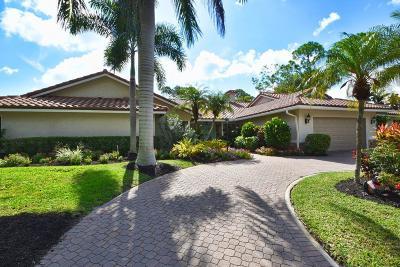 Boca Raton Single Family Home For Sale: 7547 Estrella Circle