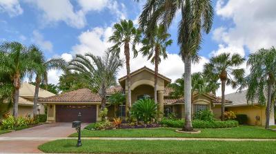 Boca Raton Single Family Home For Sale: 20088 Palm Island Drive