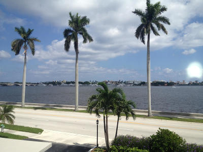 West Palm Beach Condo Sold: 1527 S Flagler Drive #301f