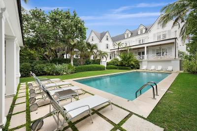 Palm Beach Single Family Home For Sale: 1438 Ocean Boulevard