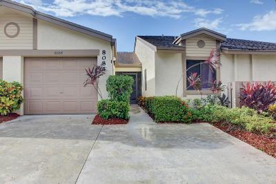 Boca Raton Single Family Home Contingent: 8084 Windgate Drive #D