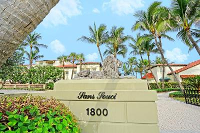 Palm Beach Single Family Home For Sale: 1800 S Ocean Boulevard