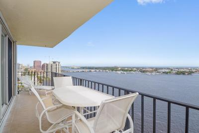 West Palm Beach Condo For Sale: 1701 S Flagler Drive #1701