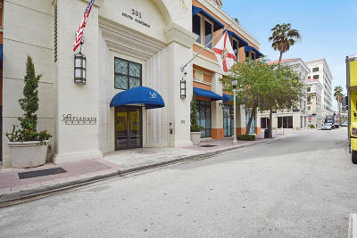 West Palm Beach Rental Leased: 201 S Narcissus Avenue #406