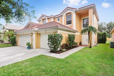 Delray Beach Single Family Home For Sale: 1100 Delray Lakes Drive
