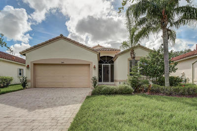 Port Saint Lucie Single Family Home For Sale: 344 NW Toscane Trail
