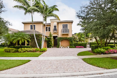 Boca Raton Single Family Home For Sale: 17824 Villa Club Way