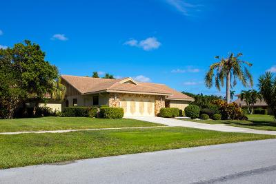 Boynton Beach Single Family Home For Sale: 5335 Piping Rock Drive