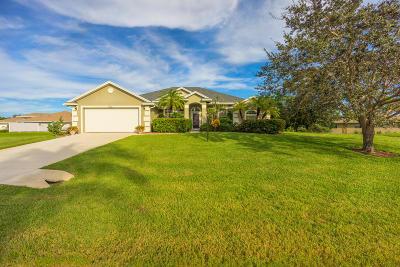 Stuart Single Family Home For Sale: 5311 SE Sterling Circle
