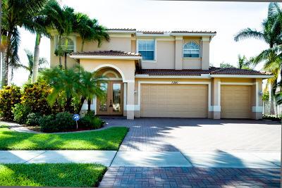 Wellington Single Family Home For Sale: 11380 Nautica Court