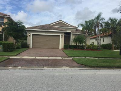 Royal Palm Beach Single Family Home For Sale: 2837 Bellarosa Circle