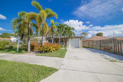 Delray Beach Single Family Home For Sale: 37 SW 13th Avenue