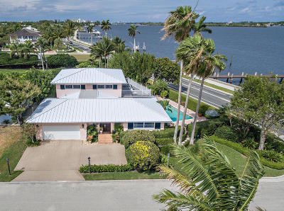 West Palm Beach Single Family Home Contingent: 103 Elwa Place