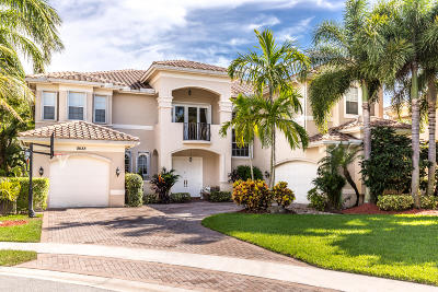 Boynton Beach Single Family Home For Sale: 8688 Thornbrook Terrace Point